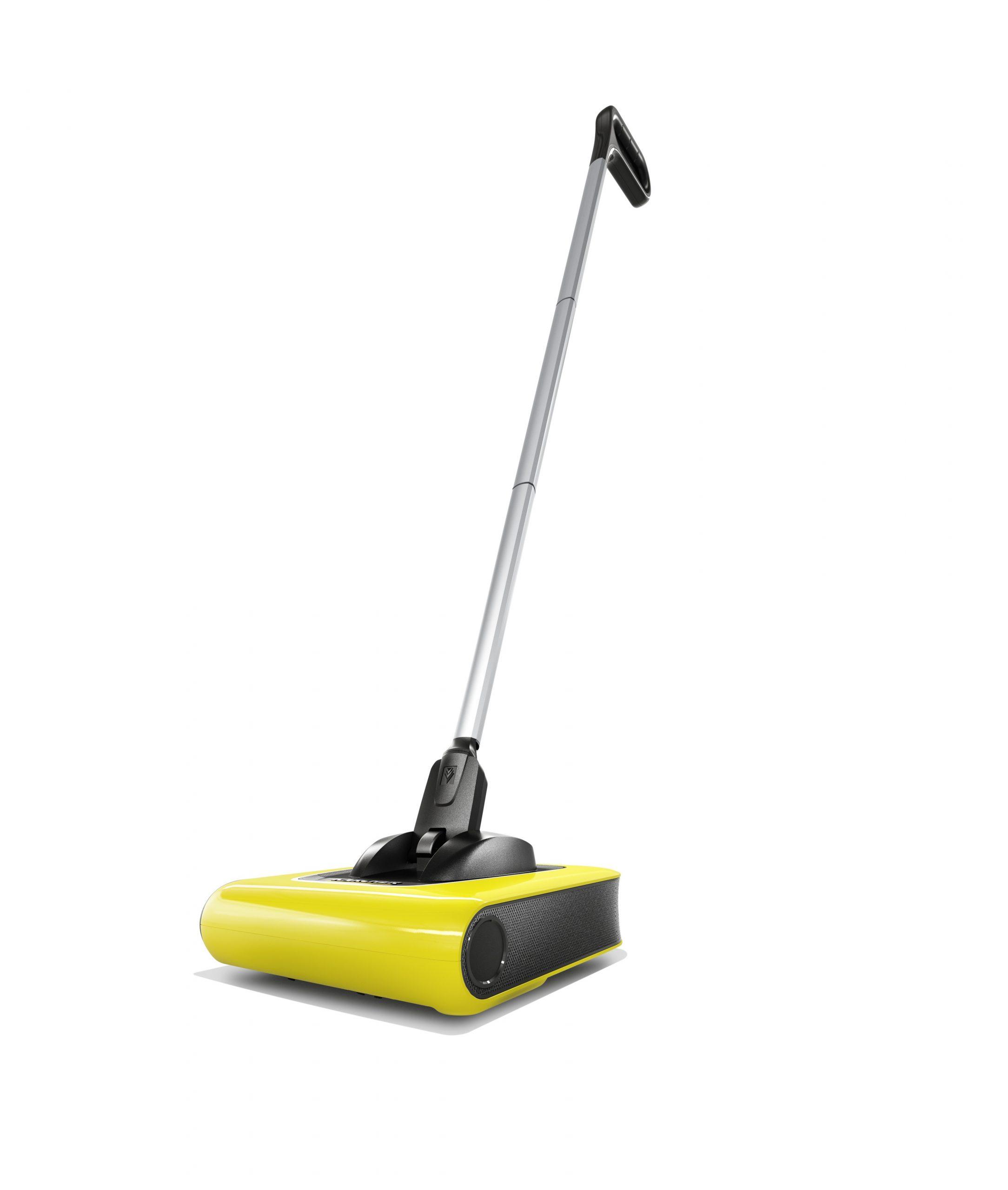 מטאטא חשמלי נטען לרצפות ולשטיחים